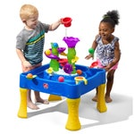 402199 Rise and Fall Water and Ball Table Blue 001