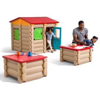 4057KR Big Builders Playhouse Tables and More Piece Building Set 001