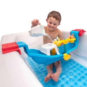 414099 Nautical Rain Showers Bath Set 001