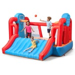 414299 MAX Sports Full Court Basketball Inflatable Bouncer With Slide 001