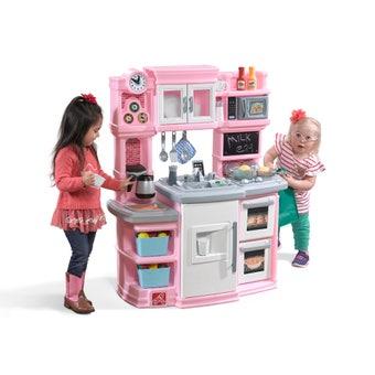 488999 Great Gourmet Play Kitchen Light Pink 001