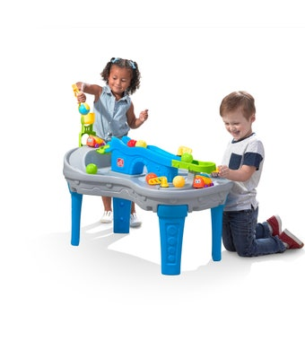 495500 Ball Buddies Truckin and Rollin Play Table 001