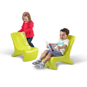 495802 Junior Chic Piece Chair Set Lime 001