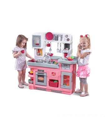 496700 Love To Entertain Play Kitchen Pink 001