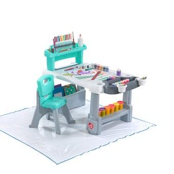 498499 Deluxe Creative Projects Art Desk 001