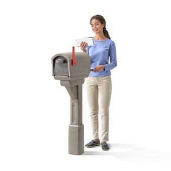 578499 Mailmaster Express Mailbox Mocha 001