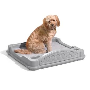597899 Close N Cozy Hideaway Dog Bed Gray 001