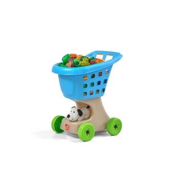 700500 Little Helpers Kids Shopping Cart Blue 001