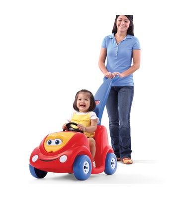 717099 Push Around Buggy Red Kids Push Car 001