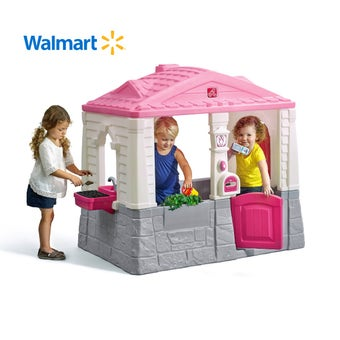729499 Neat and Tidy Cottage Playhouse Pink 001