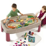 754799 Deluxe Canyon Road Train Track Table 001