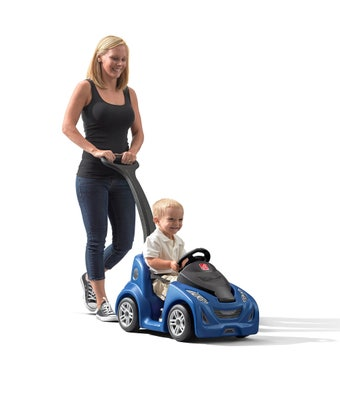 779799 Push Around Buggy Ride On Toy GT Blue 001