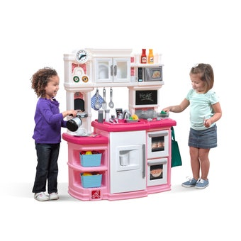 784299 Great Gourmet Play Kitchen Pink 001