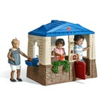 788700 Neat and Tidy Cottage Playhouse Blue Roof 001