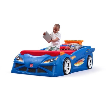 854699 Hot Wheels Toddler to twin Race Car Bed 001