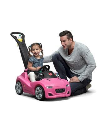 866699 Whisper Ride Cruiser Ride On Toy Pink 001