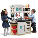 868099 Great Gourmet Play Kitchen Tan 001